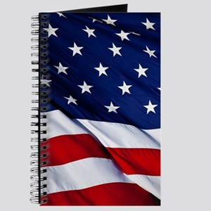 United States Flag in All Her Glory Journal