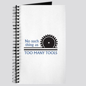 TOO MANY TOOLS Journal