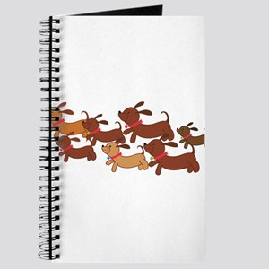 Running Weiner Dogs Journal