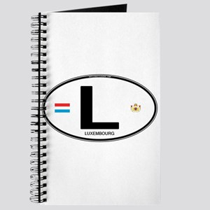 Luxembourg Euro Oval Journal