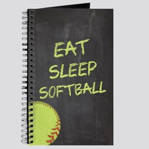 Eat, Sleep, Softball Journal