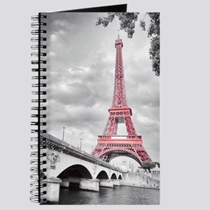 Pink Eiffel Tower Journal