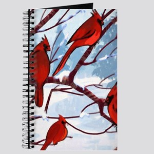 Cardinals Winter Landscape Journal