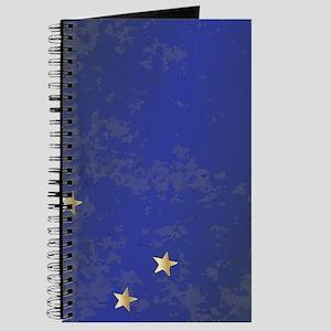 Flag of Alaska Grunge Journal