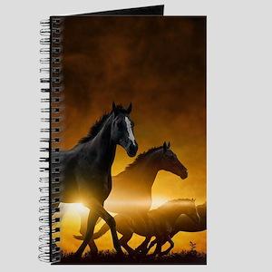 Wild Black Horses Journal