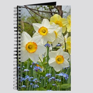 White and yellow daffodils Journal