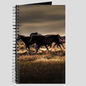 Wild Horses Running Free Journal
