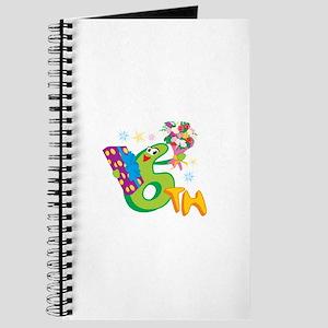 6th Celebration Journal