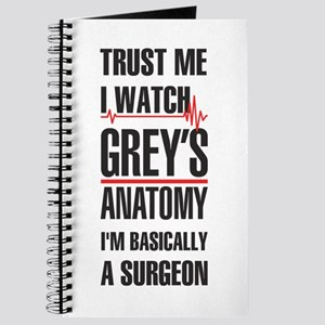 Greys Anatomy trust me black Journal