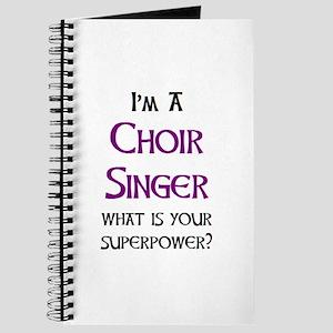 choir singer Journal