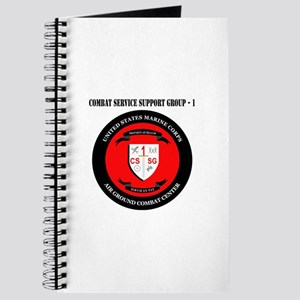 Combat Service Support Group - 1 with Text Journal