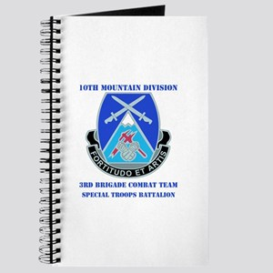 3rd BCT - Special Troops Bn with Text Journal