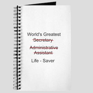 World's Greatest Secretary Journal