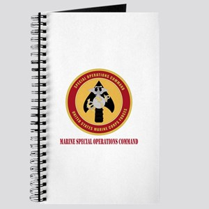 Marine Special Ops Cmd with Text Journal