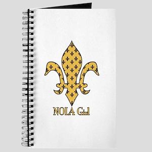NOLA Girl Fleur de lis (gold) Journal