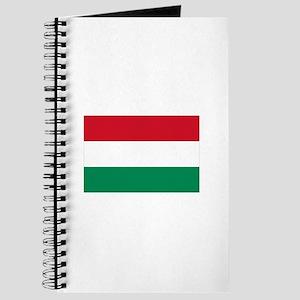 Hungary flag Journal