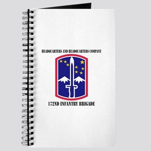 HHC - 172 Infantry Brigade with text Journal