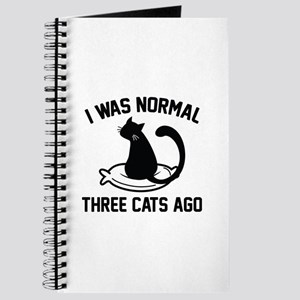 I Was Normal Three Cats Ago Journal