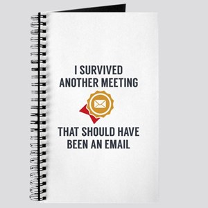 I Survived Another Meeting Journal
