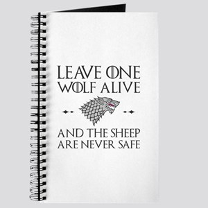 Leave One Wolf Alive Journal