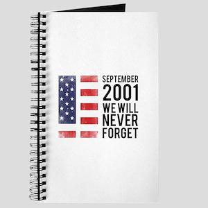 9 11 Remembering Journal