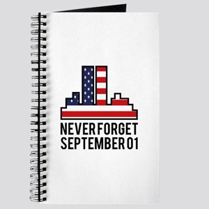 9 11 Never Forget Journal