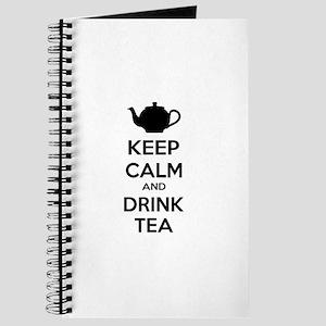 Keep calm and drink tea Journal