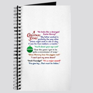 A Christmas Story Quotations Journal