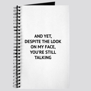 Still Talking Journal