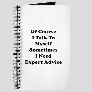 Sometimes I Need Expert Advice Journal
