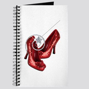 Ruby Red Slippers and Wand Journal