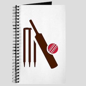 Cricket bat stumps Journal