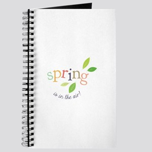 Spring In The Air Journal