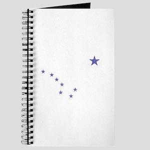 Faded Alaska State Flag Journal