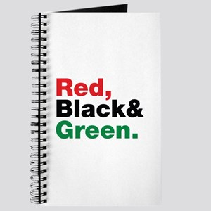 Red, Black and Green. Journal