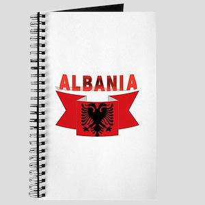flag Albania Ribbon Journal