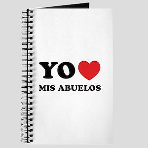 Yo Amo Mis Abuelos Journal