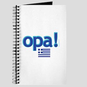 Greek Flag Opa1 Journal