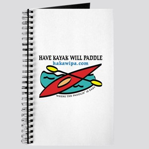 HAVE KAYAK WILL PADDLE Journal
