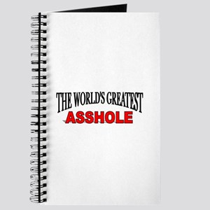 """The World's Greatest Asshole"" Journal"