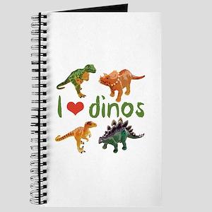 I Love Dinos Journal