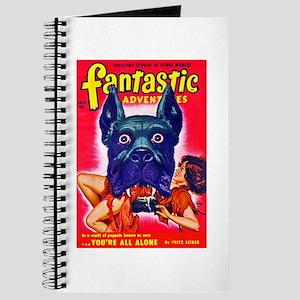 Fantastic Big Dog Cover Art Journal