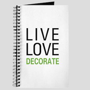 Live Love Decorate Journal