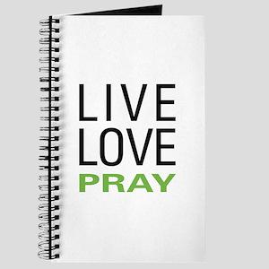 Live Love Pray Journal
