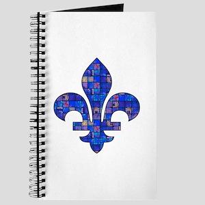 Blue Mosaic Fleur Journal