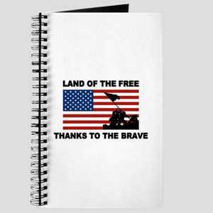Land Of The Free Thanks To The Brave Journal