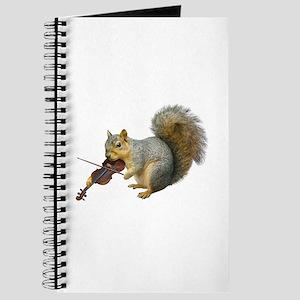 Squirrel Violin Journal