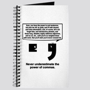 The Power of Commas Journal