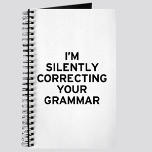 I'm Silently Grammar Journal