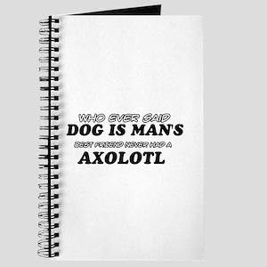 Axolotl pet designs Journal